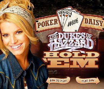 美女德州扑克